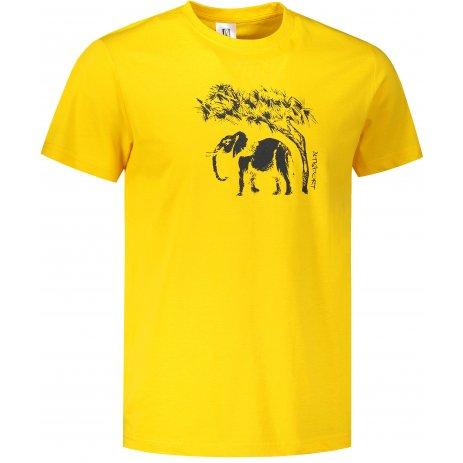 Pánské triko ALTISPORT ALM083129 ŽLUTÁ