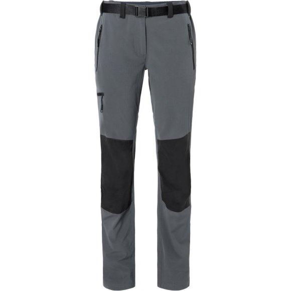 Dámské kalhoty JAMES NICHOLSON JN1205 CARBON/BLACK