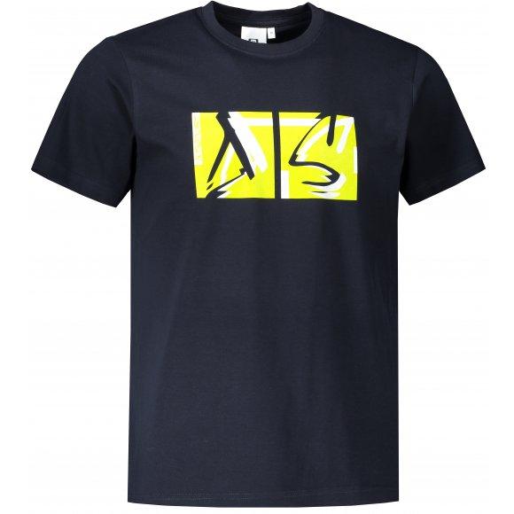 Pánské triko ALTISPORT ALM078129 NÁMOŘNÍ MODRÁ