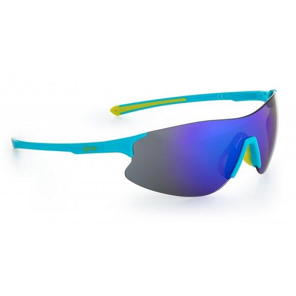 Sluneční brýle KILPI INGLIS-U PU0062KI SVĚTLE MODRÁ