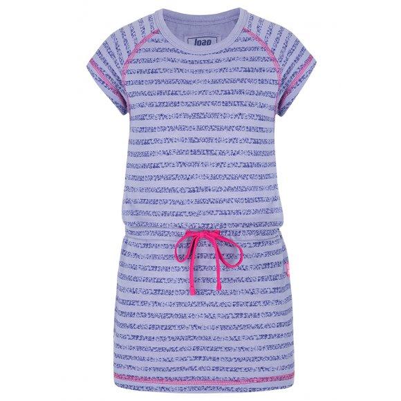 Dívčí šaty LOAP BACY FIALOVÁ