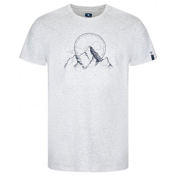 Pánské triko LOAP BOGAR BÍLÁ