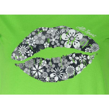 Dámské triko ALTISPORT ALW102120 APPLE GREEN