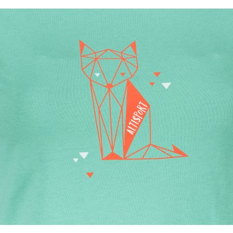 Dámské triko ALTISPORT ALW091122 MÁTOVÁ