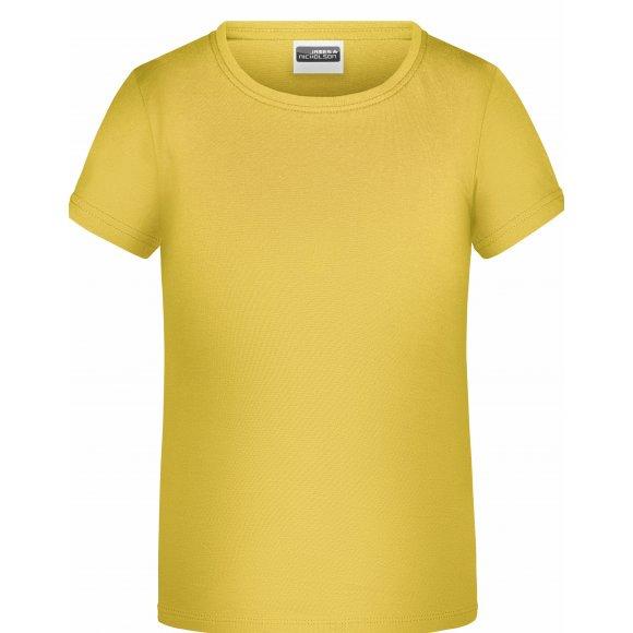 Chlapecké triko JAMES NICHOLSON JN745 YELLOW
