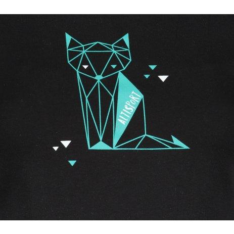Dámské triko ALTISPORT ALW091122 ČERNOMODRÁ