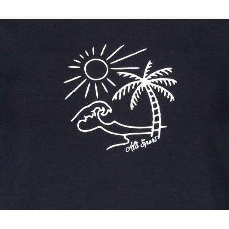 Dámské triko ALTISPORT ALW089120 NÁMOŘNÍ MODRÁ