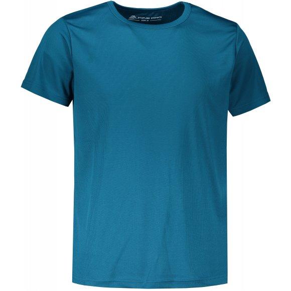 Pánské funkční triko ALPINE PRO TMOB 3 MTSL377 MODRÁ
