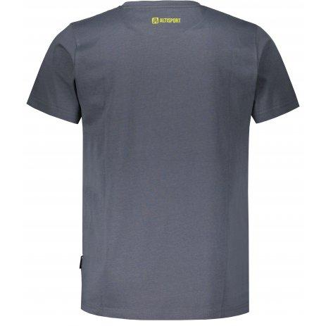 Pánské triko ALTISPORT MARAQ MTSU708 TMAVĚ ŠEDÁ
