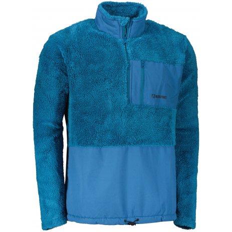 Pánská fleece mikina ALTISPORT HONOB MSWU307 MODRÁ