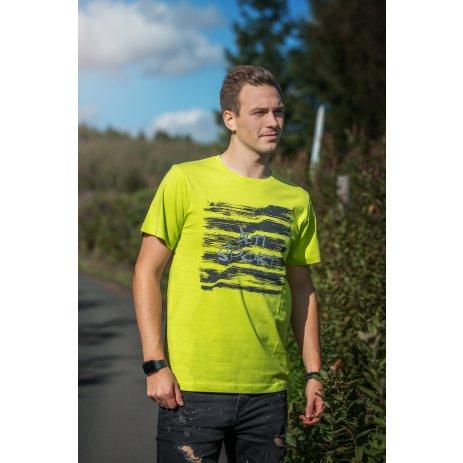 Pánské triko ALTISPORT LOAHOV MTSU707 SVĚTLE ZELENÁ