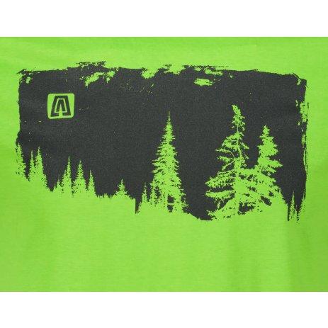 Pánské triko ALTISPORT ALM111129 APPLE GREEN
