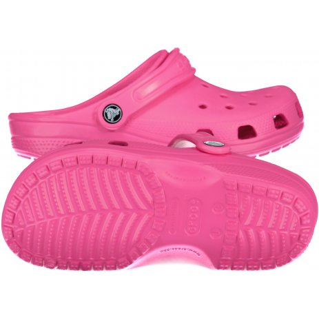 Dětské pantofle CROCS CLASSIC CLOG K 204536-6QQ ELECTRIC PINK