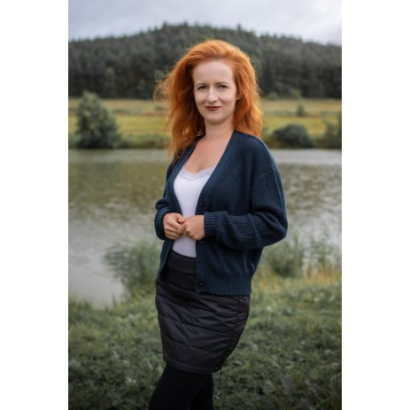 Dámská sukně ALTISPORT CONCA LSKU363 ČERNÁ