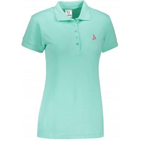 Dámské premium triko s límečkem ALTISPORT ALW002210 MÁTOVÁ
