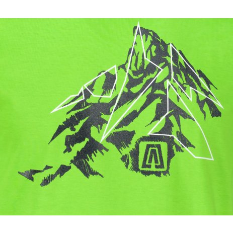 Pánské triko ALTISPORT ALM115129 APPLE GREEN