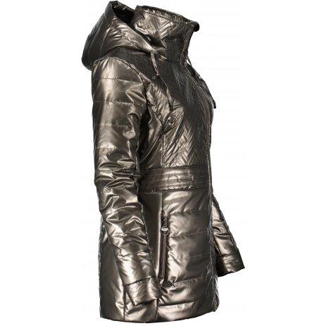Dámský kabát KIXMI MALORY HNĚDÁ