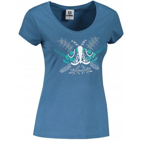 Dámské triko ALTISPORT ALW124162 DENIM
