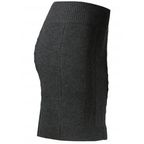 Dámská sukně KIXMI MEGGIE TMAVĚ ŠEDÝ MELÍR