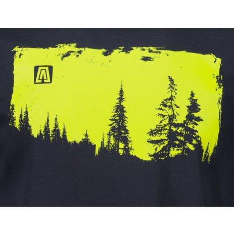 Pánské triko ALTISPORT ALM111129 NÁMOŘNÍ MODRÁ