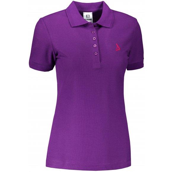 Dámské premium triko s límečkem ALTISPORT ALW002210 FIALOVÁ