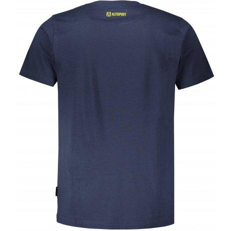 Pánské triko ALTISPORT MARAQ MTSU708 TMAVĚ MODRÁ