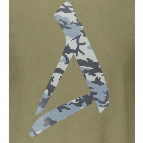 Pánské triko ALTISPORT ALM121129 KHAKI