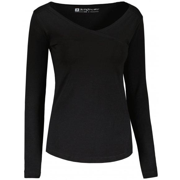 Dámské tričko ALTISPORT MANBA LSHU022 ČERNÁ