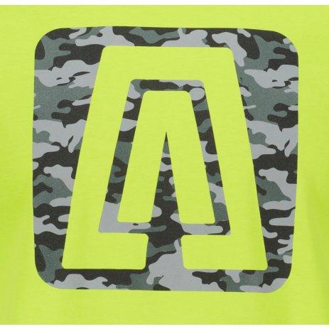 Pánské triko ALTISPORT ALM114129 LIMETKOVÁ