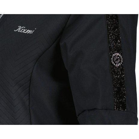 Dámský softshellový kabát KIXMI MALAYA ČERNÁ