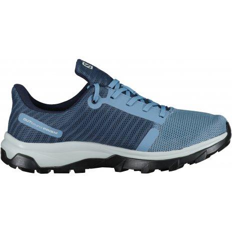 Dámské boty SALOMON OUTBOUND PRISM GTX W L41271400 MODRÁ/MODRÁ/ŠEDÁ