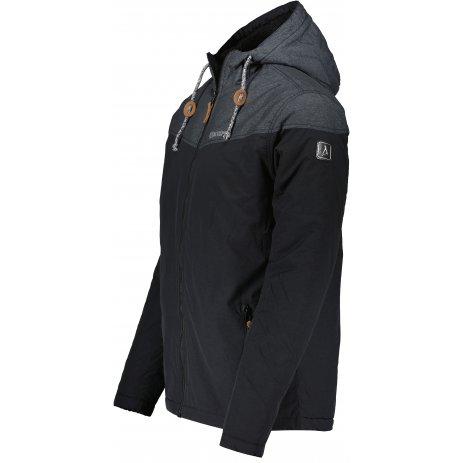 Pánská zimní bunda ALTISPORT DREG MJCU525 ČERNÁ