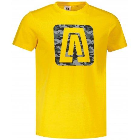 Pánské triko ALTISPORT ALM114129 ŽLUTÁ