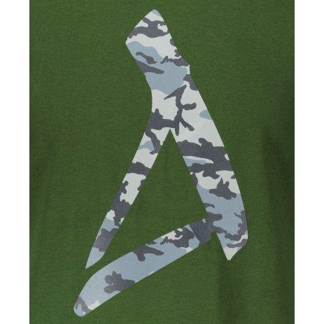 Pánské triko ALTISPORT ALM121129 LAHVOVĚ ZELENÁ