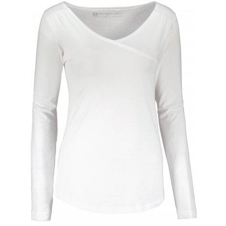 Dámské tričko ALTISPORT MANBA LSHU022 BÍLÁ