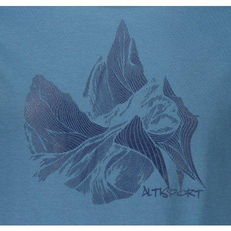 Pánské triko ALTISPORT ALM123129 DENIM