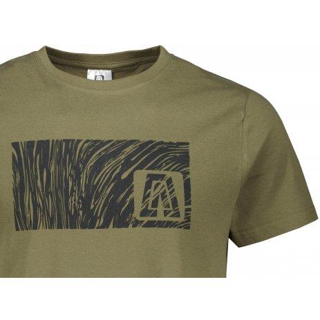 Pánské triko ALTISPORT ALM126129 KHAKI