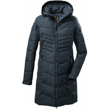 Dámský kabát KILLTEC KOW 150 WMN QLTD PRK 37421 MODRÁ