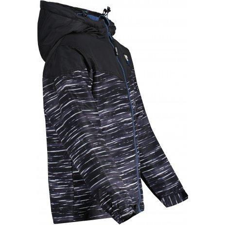 Chlapecká zimní bunda SAM 73  LUKE BB 535 ČERNÁ