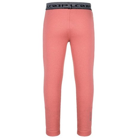 Dětské termo kalhoty LOAP PILCO RŮŽOVÝ MELÍR