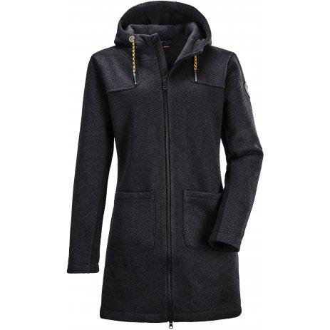 Dámský kabát KILLTEC GW 51 WMN KNTFLC PRK 37637 ČERNÁ