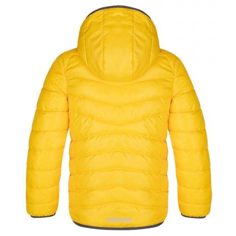 Dětská zimní bunda LOAP INGELL ŽLUTÁ