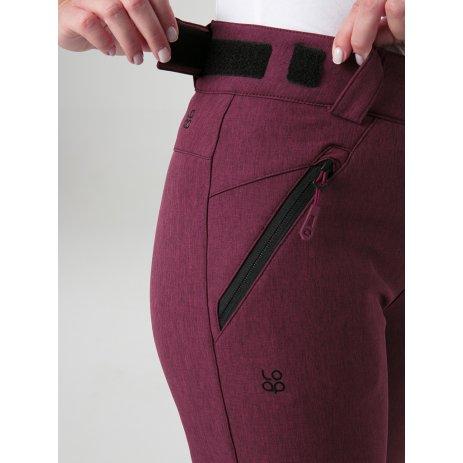 Dámské softshellové kalhoty LOAP LEKRA FIALOVÁ