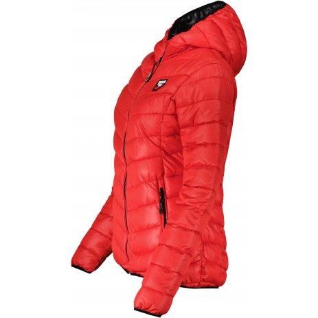 Dámská zimní bunda SAM 73  EVELYN WB 810 JASNÁ ČERVENÁ