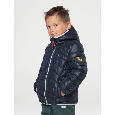 Dětská zimní bunda LOAP INGARO MODRÁ