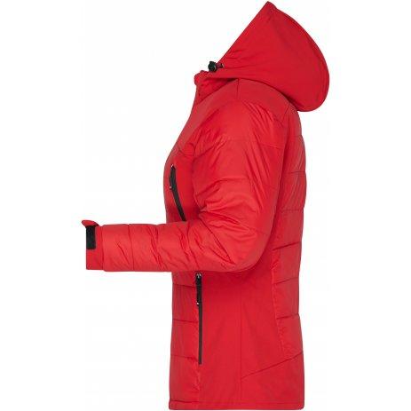 Dámská zimní bunda JAMES NICHOLSON JN1049 RED