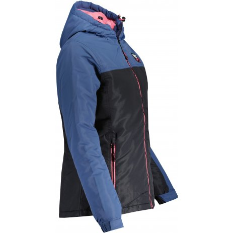 Dámská zimní bunda SAM 73 CELINE WB 811 MODRÁ