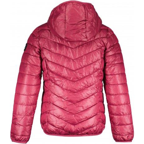 Dívčí bunda SAM 73  HERMIONA GB 544 TMAVĚ RŮŽOVÁ