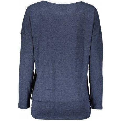 Dámské triko s dlouhým rukávem  SAM 73  SANDRA WT 830 MODRÁ