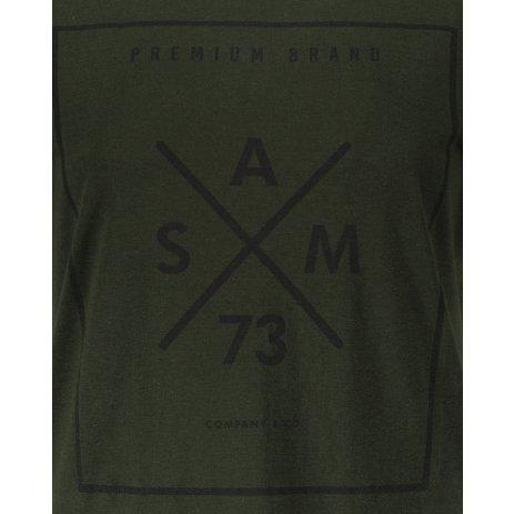Dámské triko s krátkým rukávem SAM 73  TANYA WT 826 ARMY